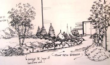 entry rendering, landscape rendering