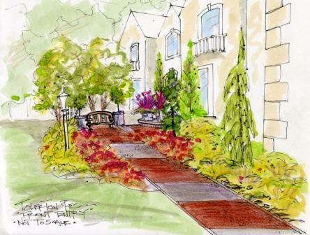 Front entry-color rendering
