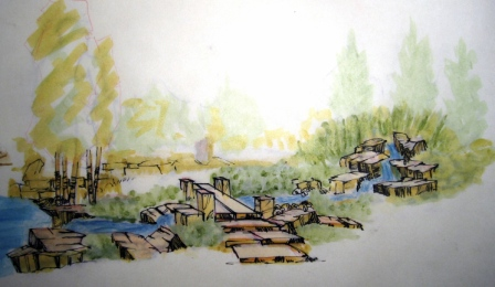 Stream, working with the markers