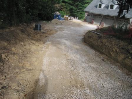 Driveway Entrance-before@EVTF