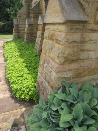 Ohio Memorial Shrine_stone detail