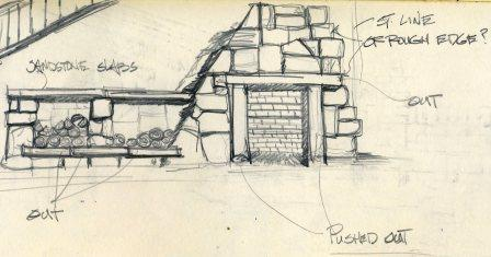 fireplace, outdoor-fireplace,