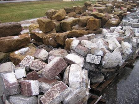 foundation-stone, barnstone