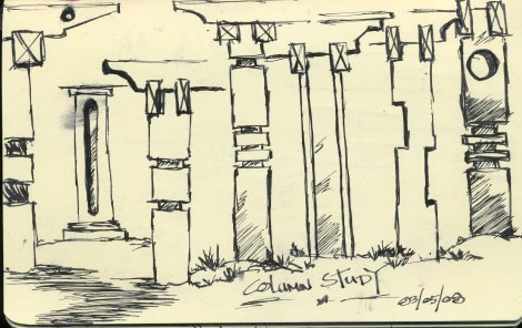 Columns amd or post for Pergolas