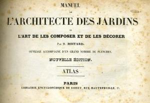 Manuel de L'Architecte des Jardins
