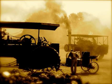 Steam Engine at work