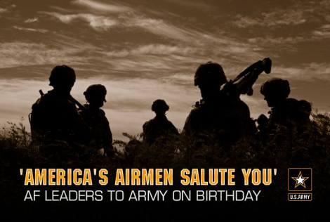 US Army Birthday Salute