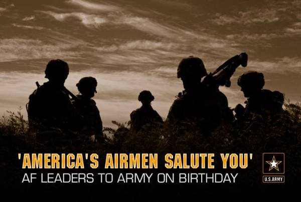 US Army Birthday Salute