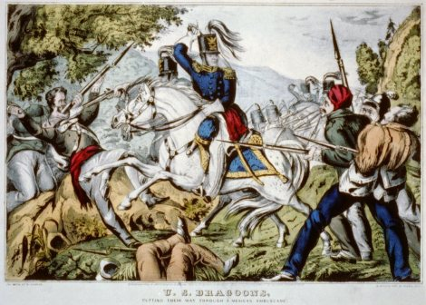 US Army 1846 Dragoons, Mexican American War