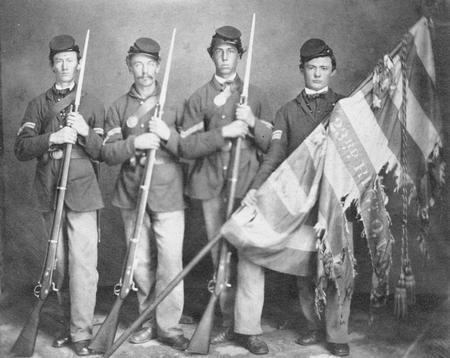 US Army 23rd Ohio Volunteers/Color Guard, Civil War