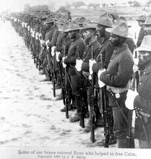 US Army Liberators of Cuba, Spanish-American War