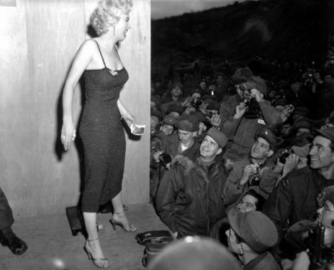 US Army, Marilyn Monroe, Korean War