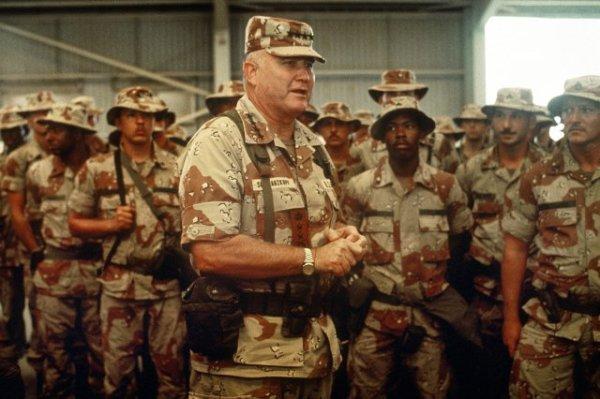 US Army Desert Storm, Gen Schwartzkopf