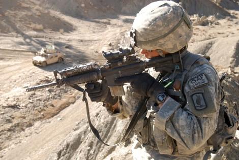 US Army War in Afghanistan