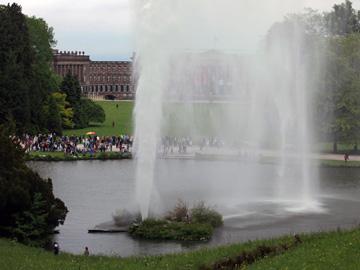 German baroque water park